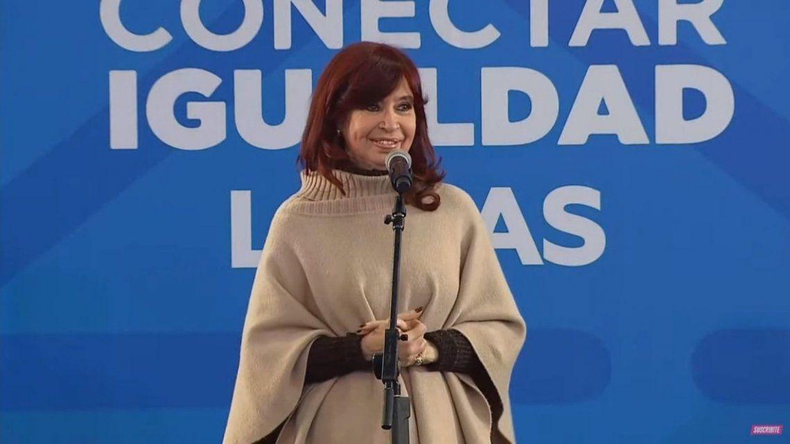 Fernández de Kirchner afirmó que el plan Conectar Igualdad se trató de una verdadera revolución.