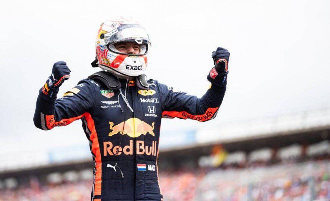 Max Verstappen quiere seguir festejando