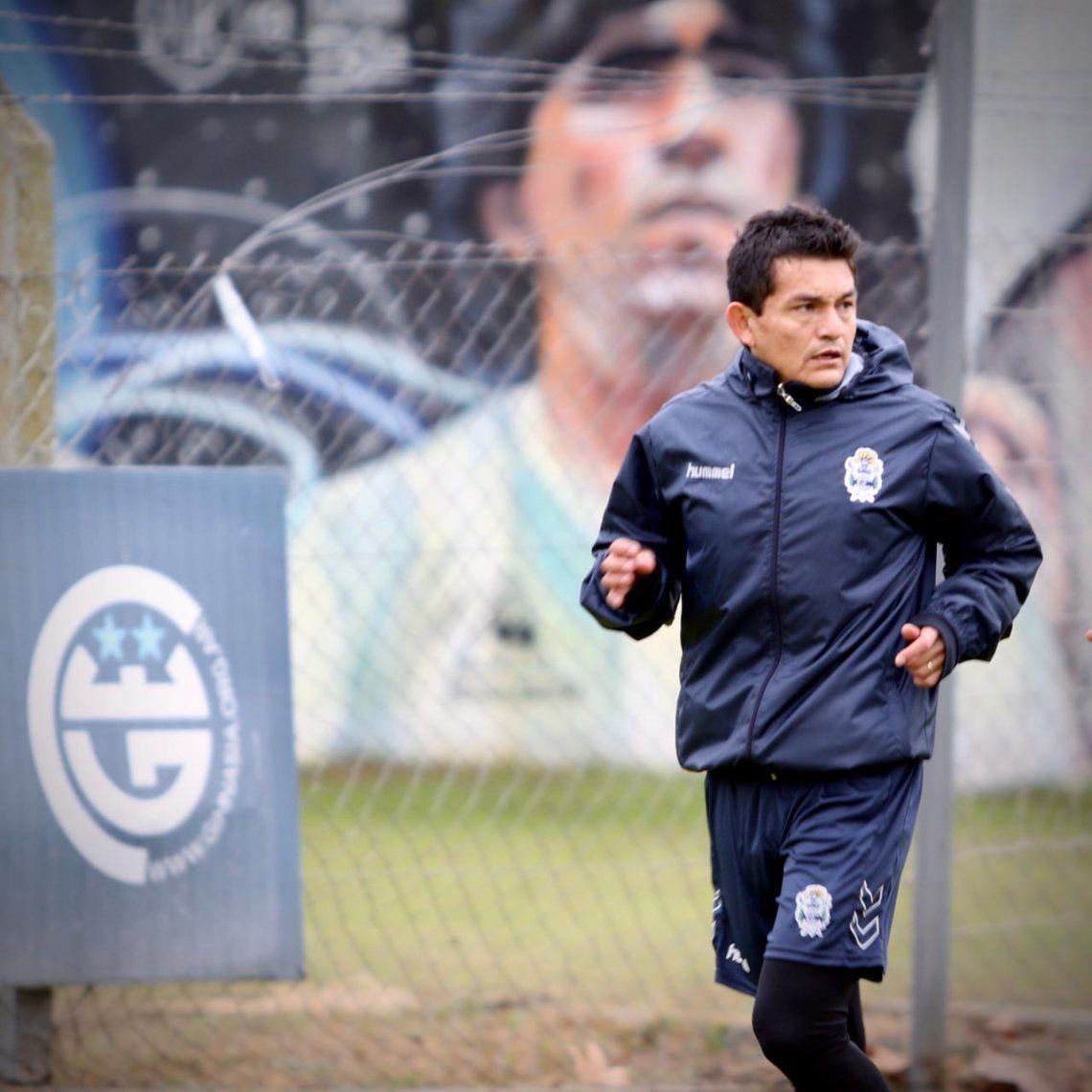 La Pulga Rodríguez se entrenó con Gimnasia y Esgrima La Plata