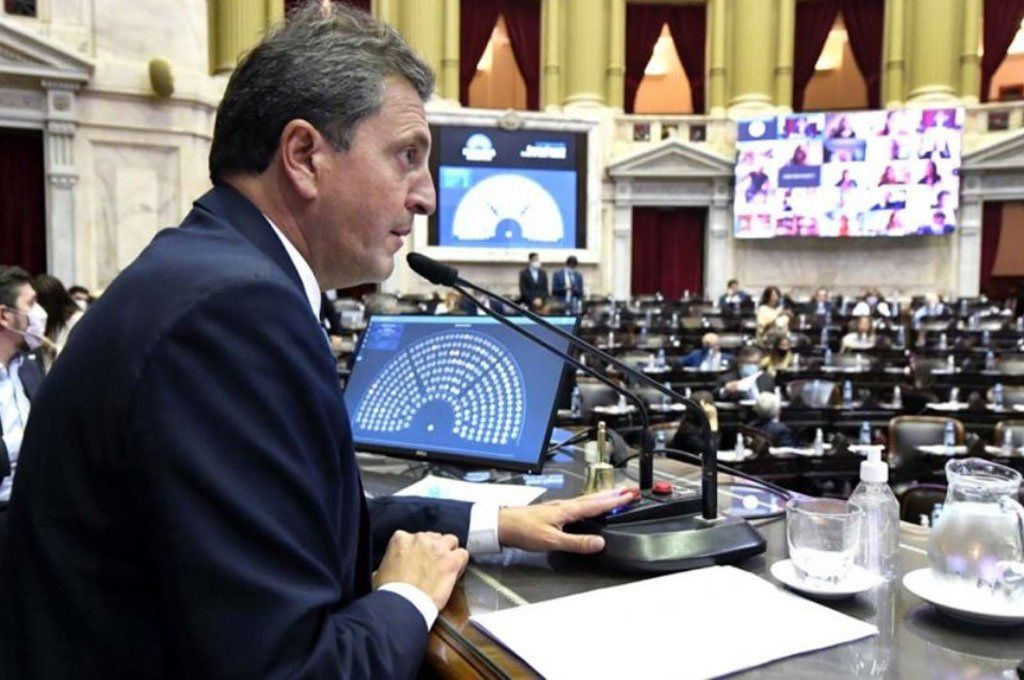 El presidente de la Cámara de Diputados