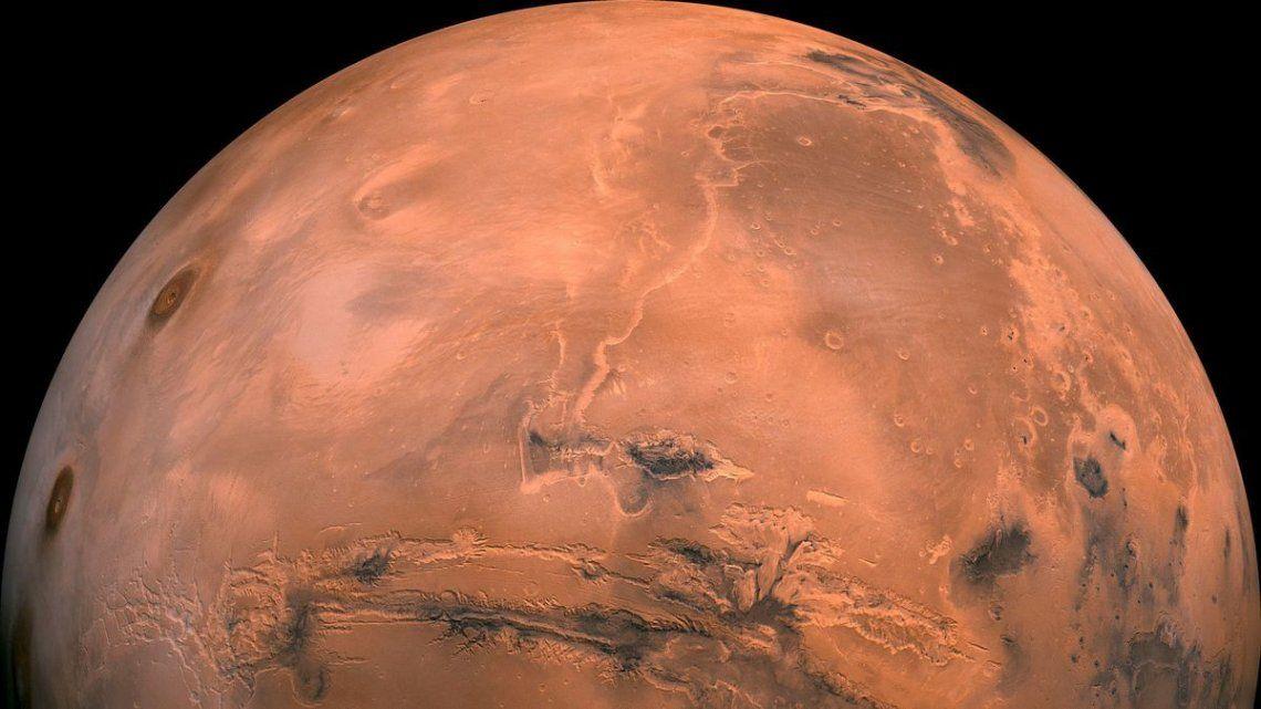 ¿Hubo vida en Marte hace 3.500 millones de años?