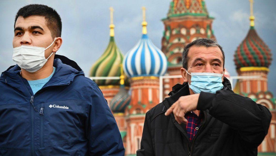 Rusia: récord de muertes por quinto día consecutivo