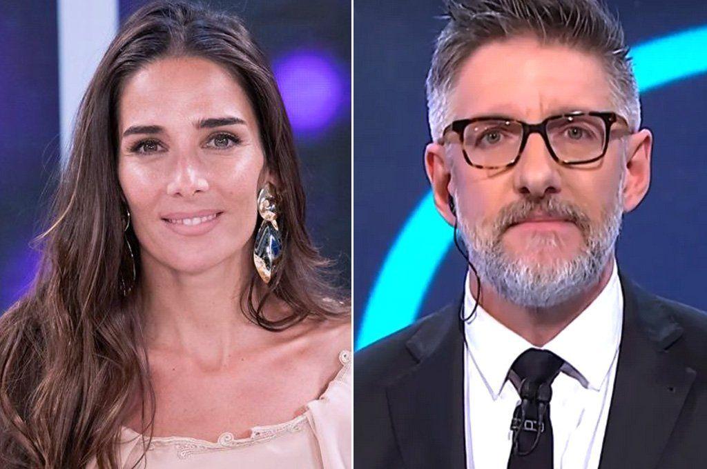 Juanita Viale (que adelanta su programa) y Luis Novaresio apostaron a ser alternativas al partido de Argentina-Ecuador.