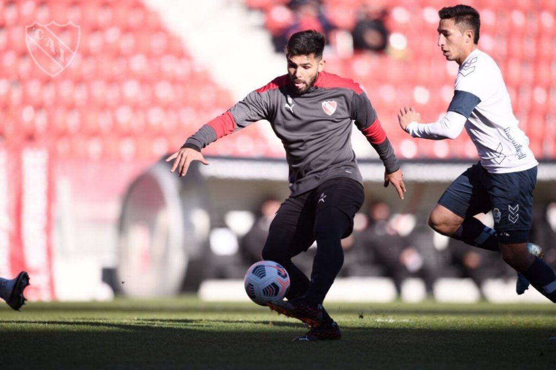 Romero marcó el único tanto de Independiente.