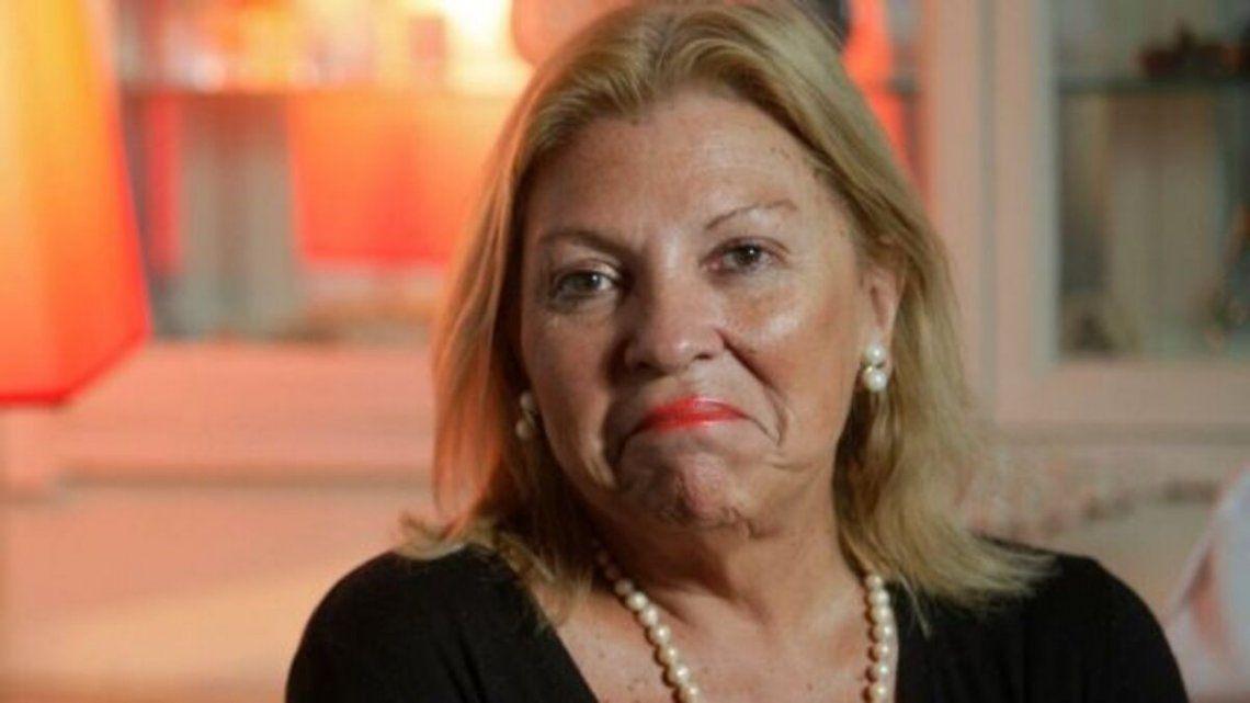 Elisa Carrió también renunció a su candidatura