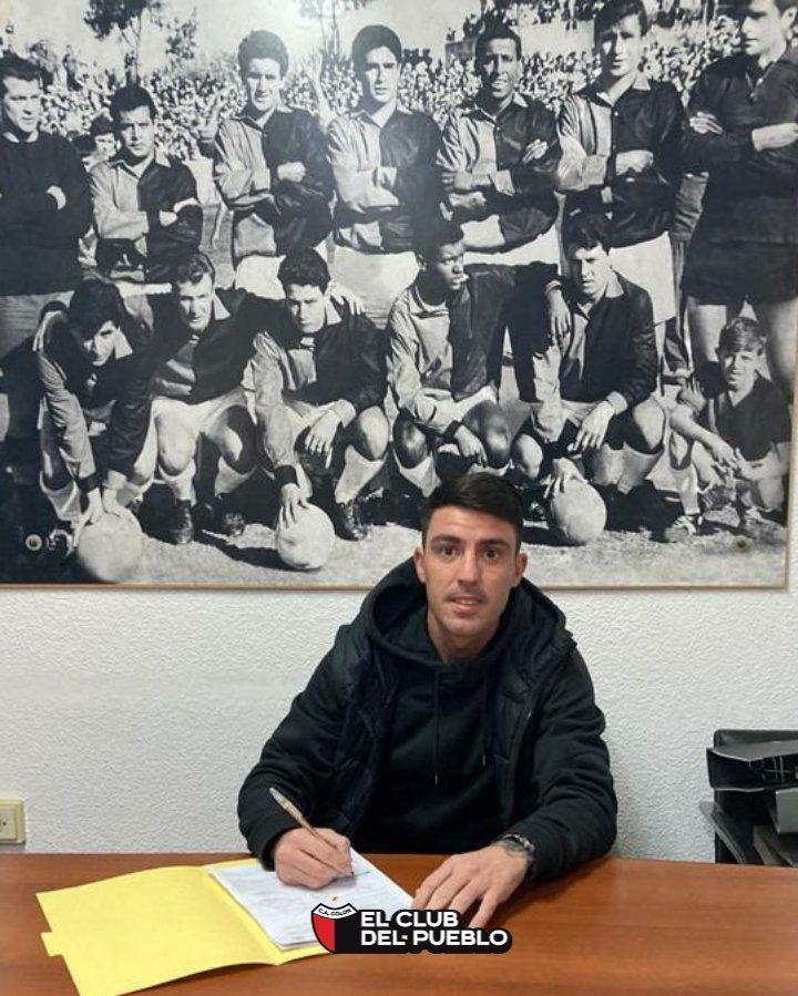 Mauro Formica firmó con Colón de Santa Fe
