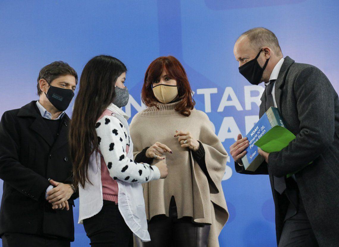 Cristina Kirchner lidera la campaña electoral 2021