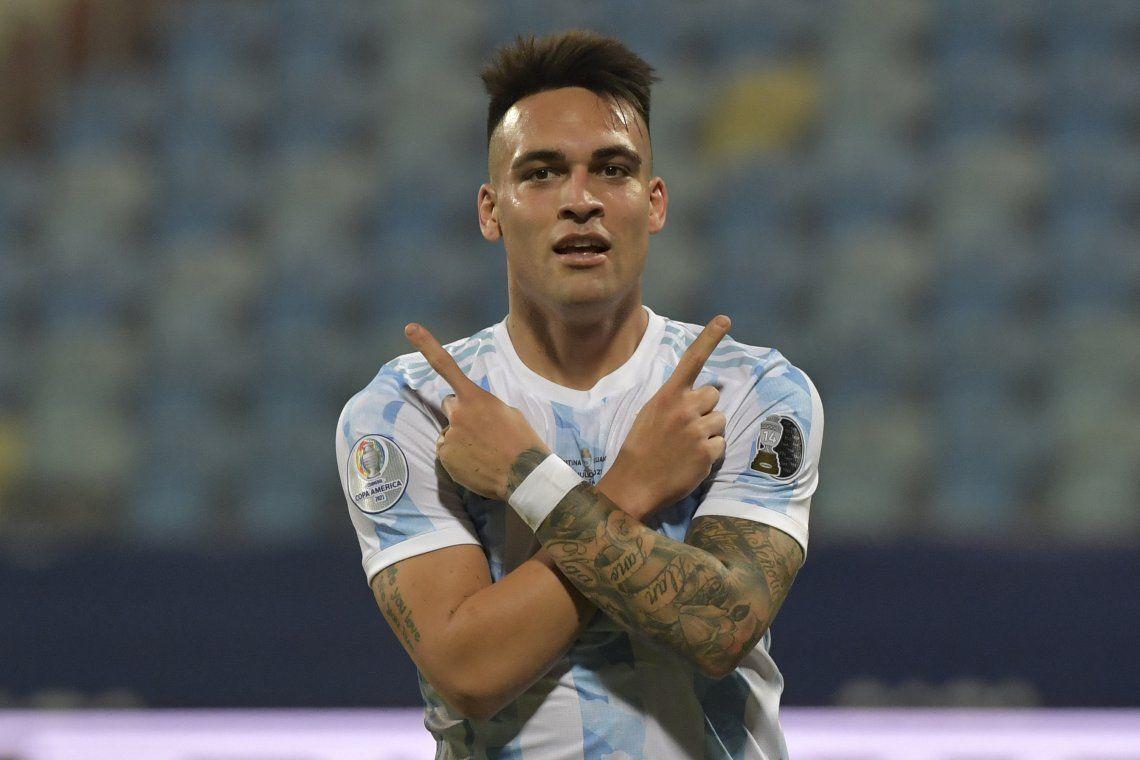 Lautaro Martínez se amigó con el gol y sueña