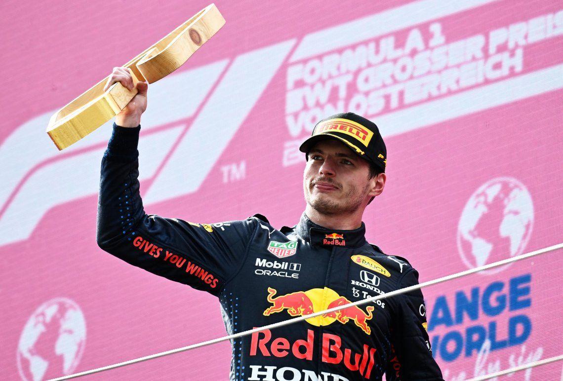 Verstappen se quedó con todos los puntos en disputa: 25 por la carrera y el adicional por marcar el récord de vuelta.