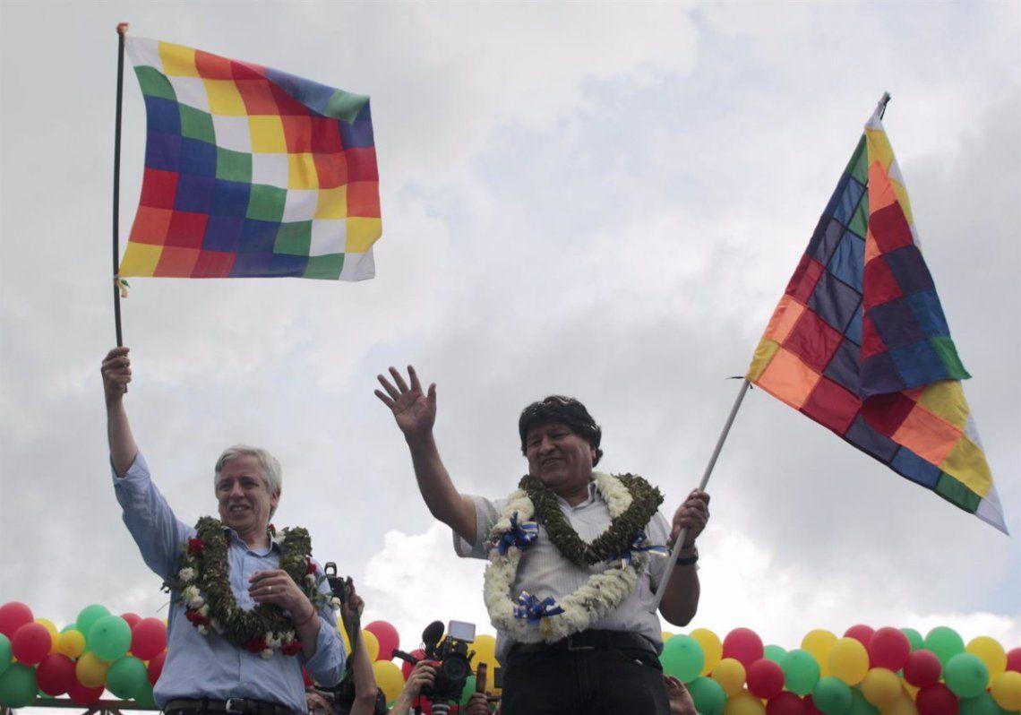 Morales había sido acusado por la oposición y parte de las Fuerzas Armadas
