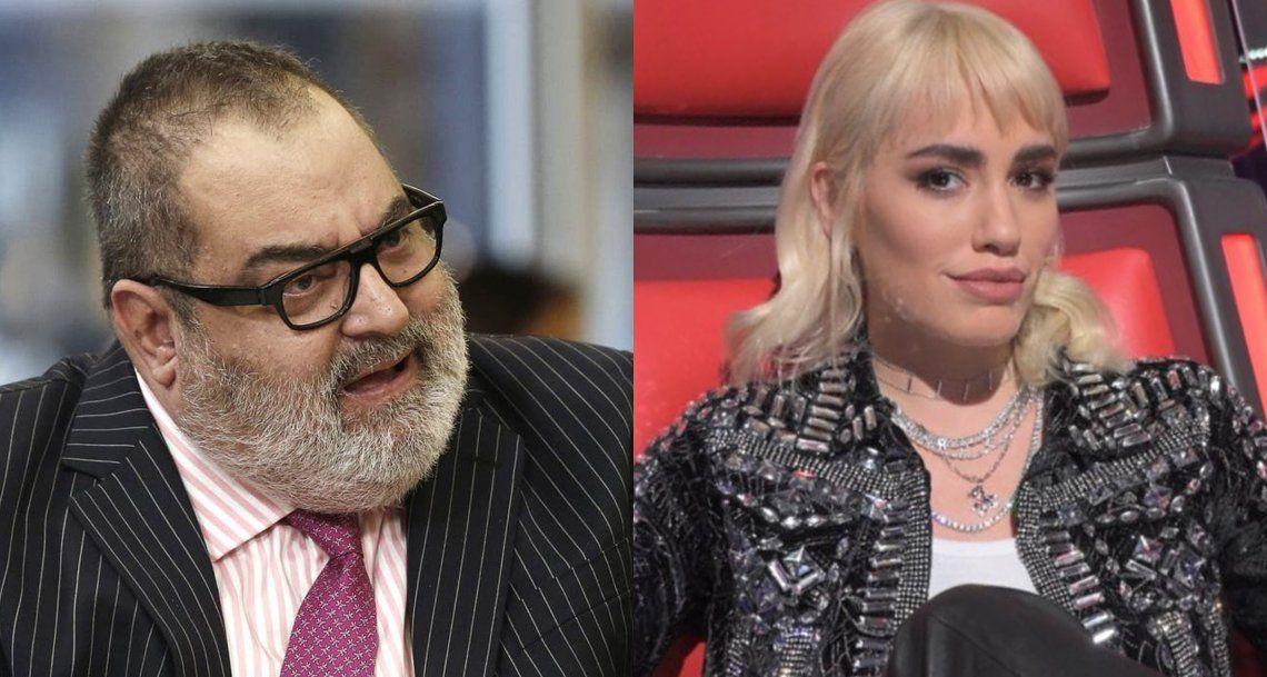 Rating en la TV: La Voz casi triplicó la audiencia de Lanata