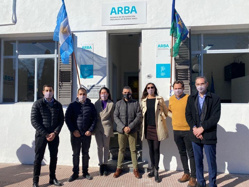 ARBA puso en funcionamiento el Centro de Servicio en Alberdi