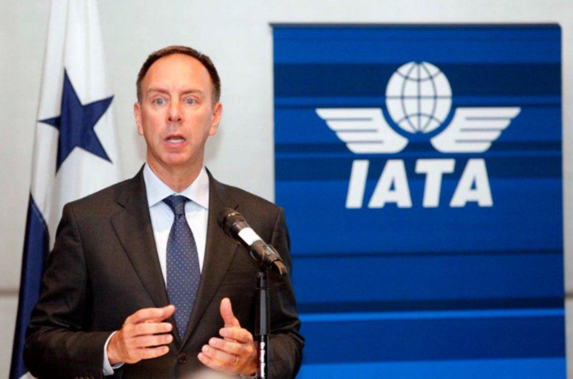 El vicepresidente para las Américas de la Asociación Internacional de Transporte Aéreo (IATA)