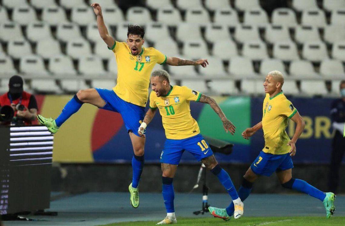 Brasil finalista de la Copa América.