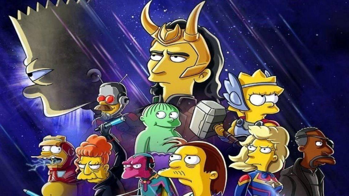 Disney+ estrena El Bueno, el Bart y el Loki, corto de Los Simpson inspirado en Marvel