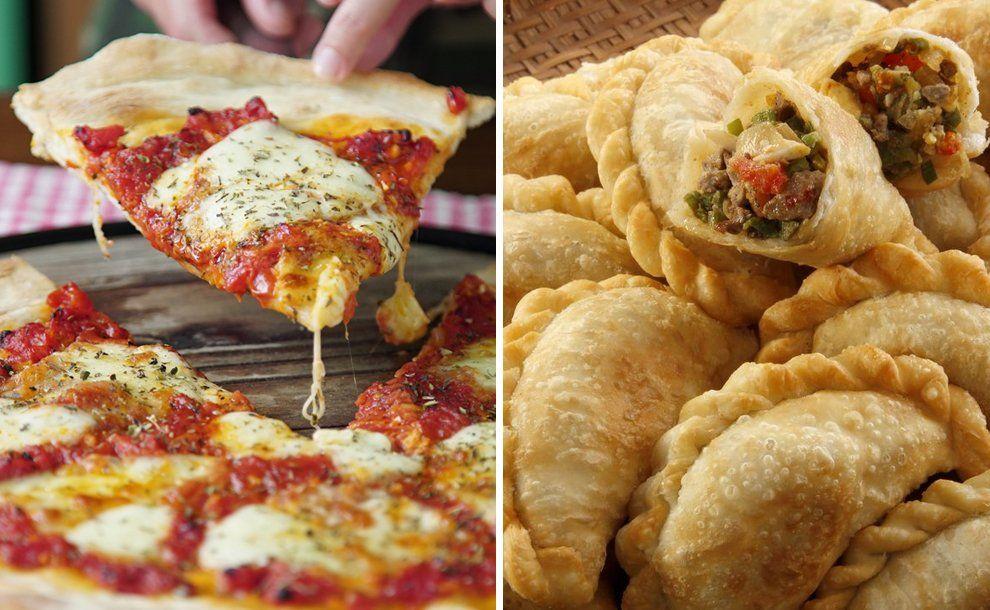 Este martes 6 de julio es una nueva edición de la Noche de la pizza y la empanada.