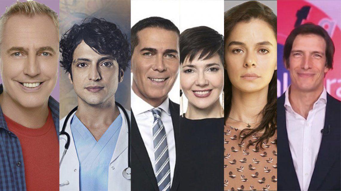 Rating: Telefe vuelve a tener los cinco programas más vistos.
