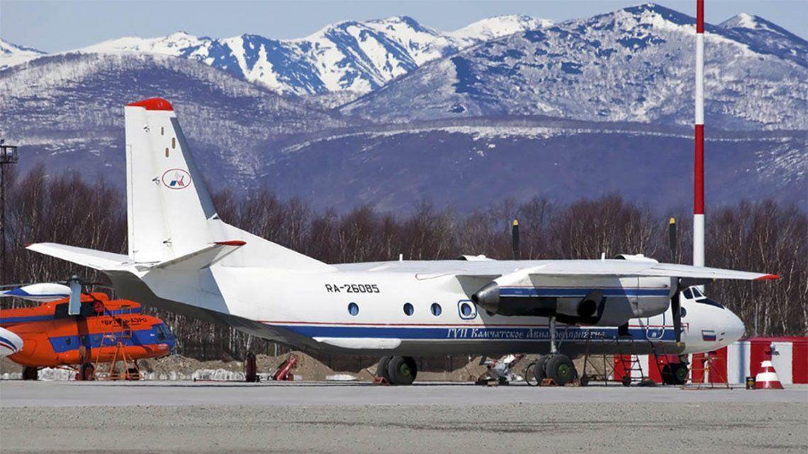 Kamchatka: un avión se estrelló en la península.