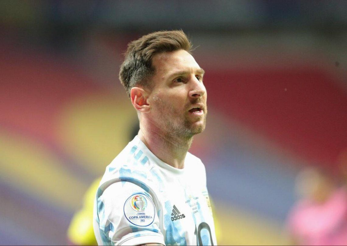 Messi se ilusiona con la gran final de la Copa América.