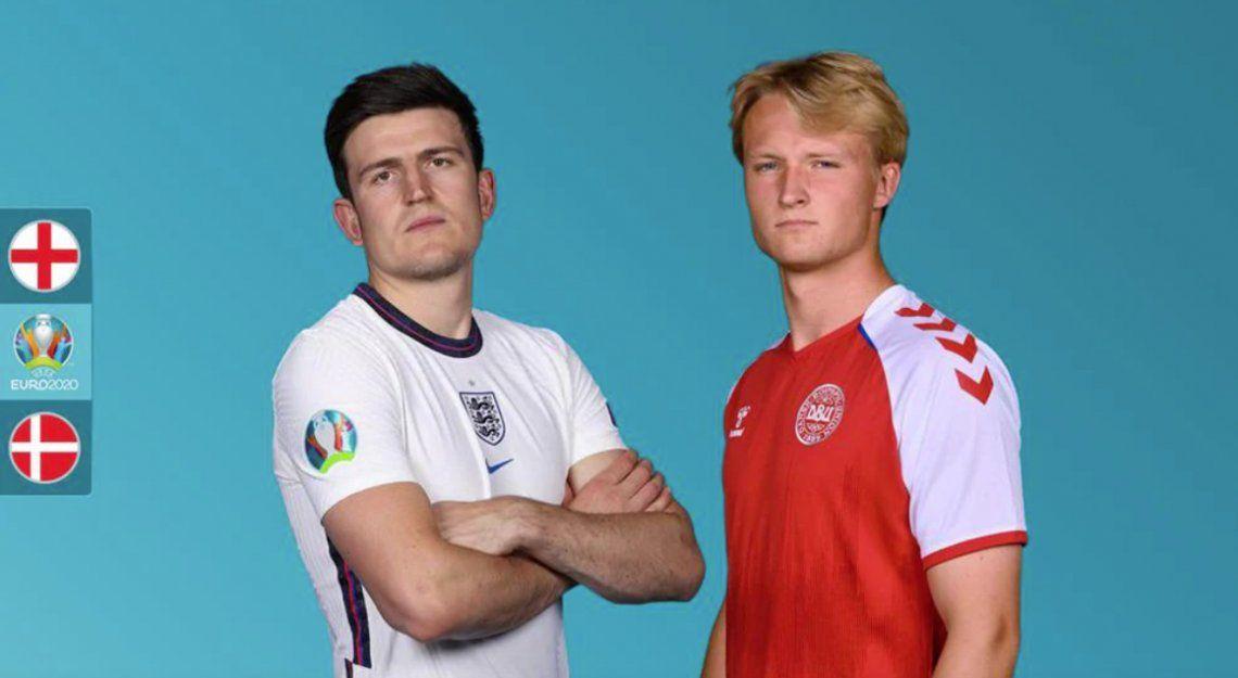 Eurocopa: Inglaterra y Dinamarca definen quien juega la final contra Italia