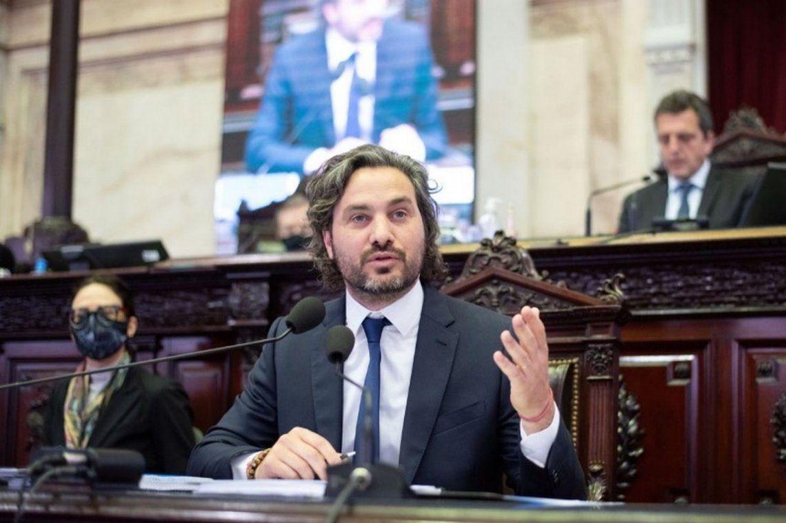 El último informe de Cafiero ante la Cámara de Diputados fue ofrecido el 28 de noviembre pasado.
