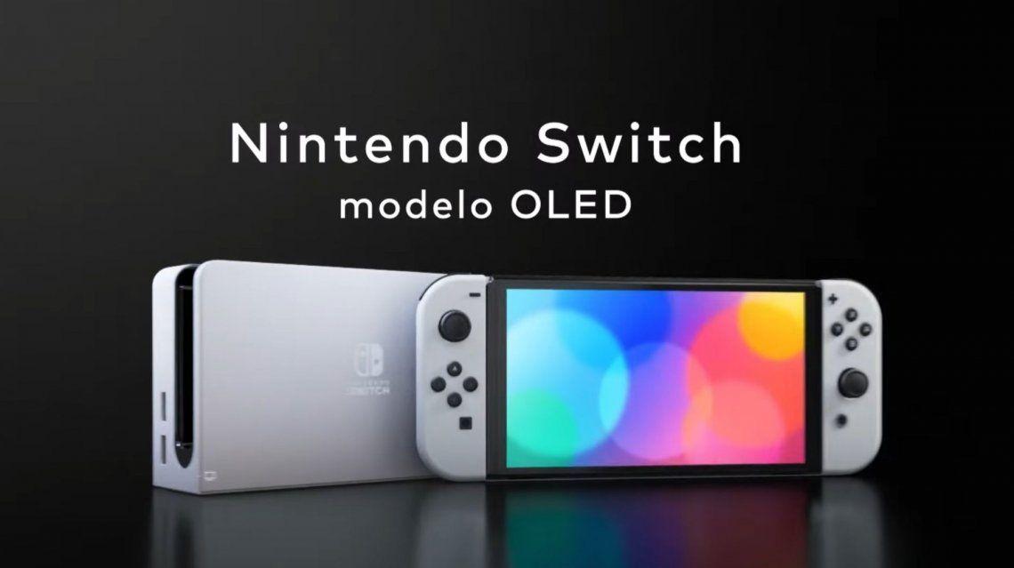 La nueva Nintendo Switch OLED ya es oficial: características