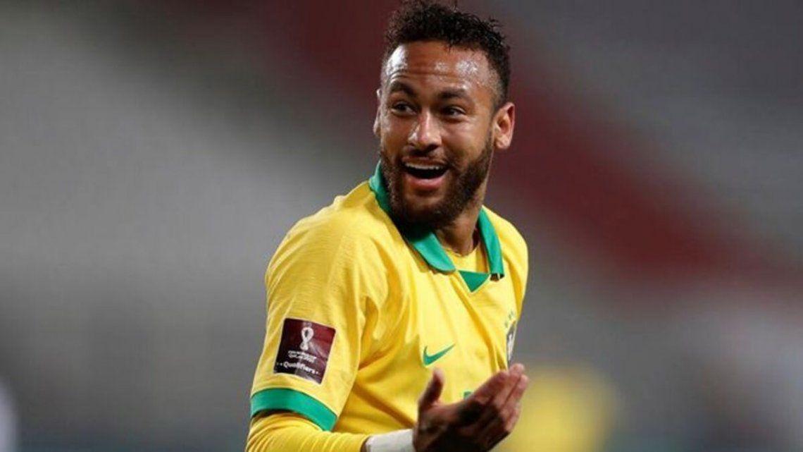 Neymar se descargó con los ciudadanos de Brasil que prefieren que gane Argentina