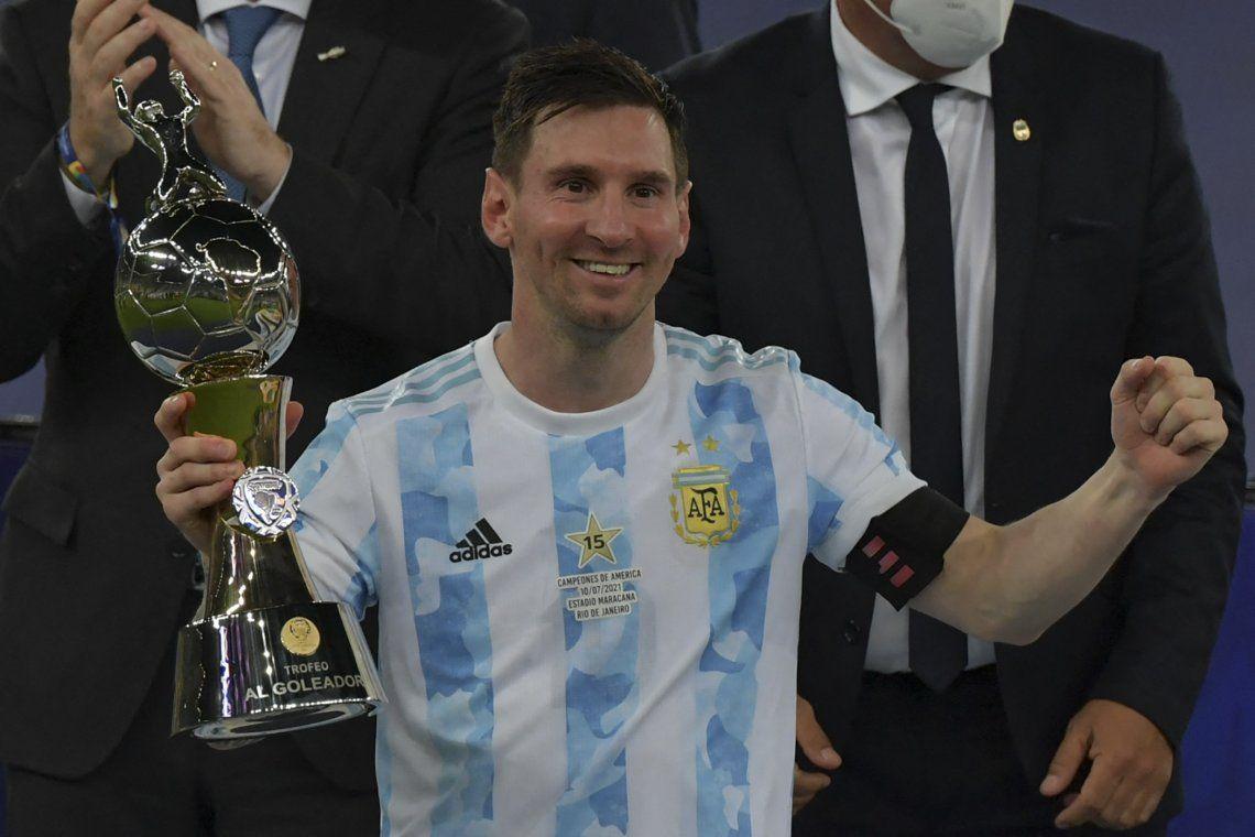 Lionel Messi tuvo su revancha en el Maracaná