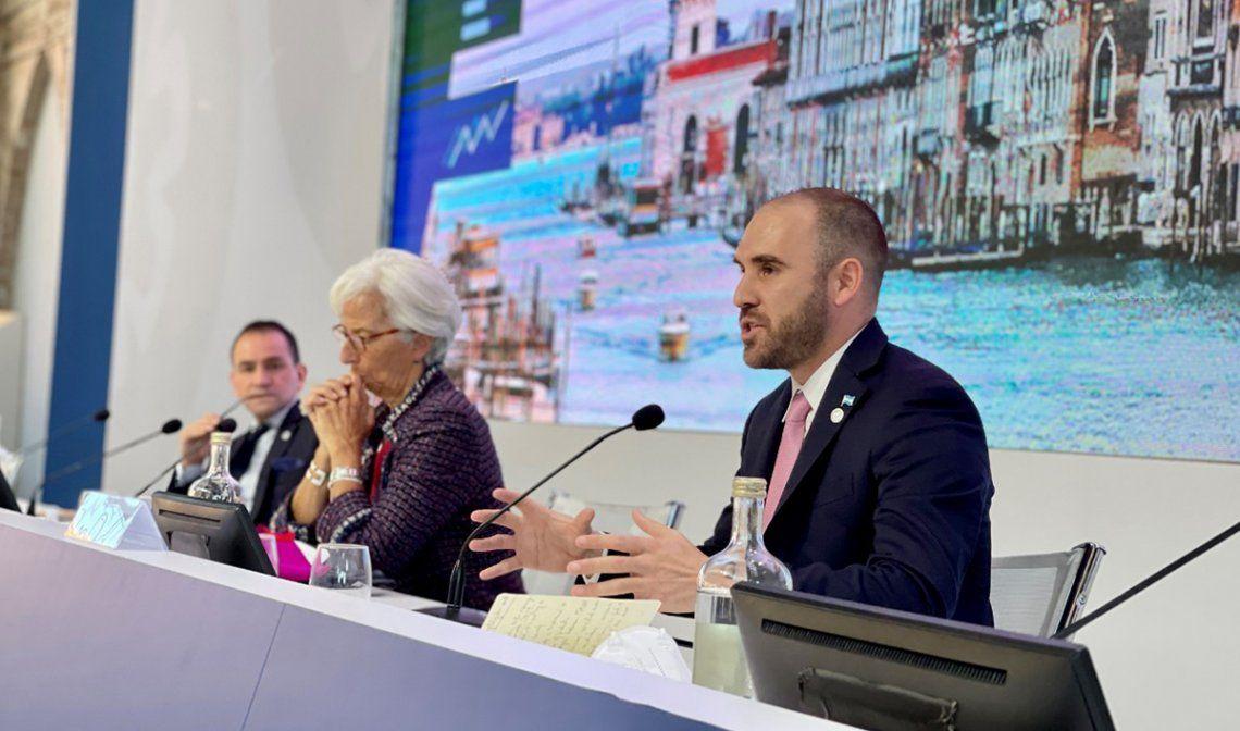 Guzmán participó este domingo en Venecia de un encuentro convocado por Italia en su condición de presidente del G20.