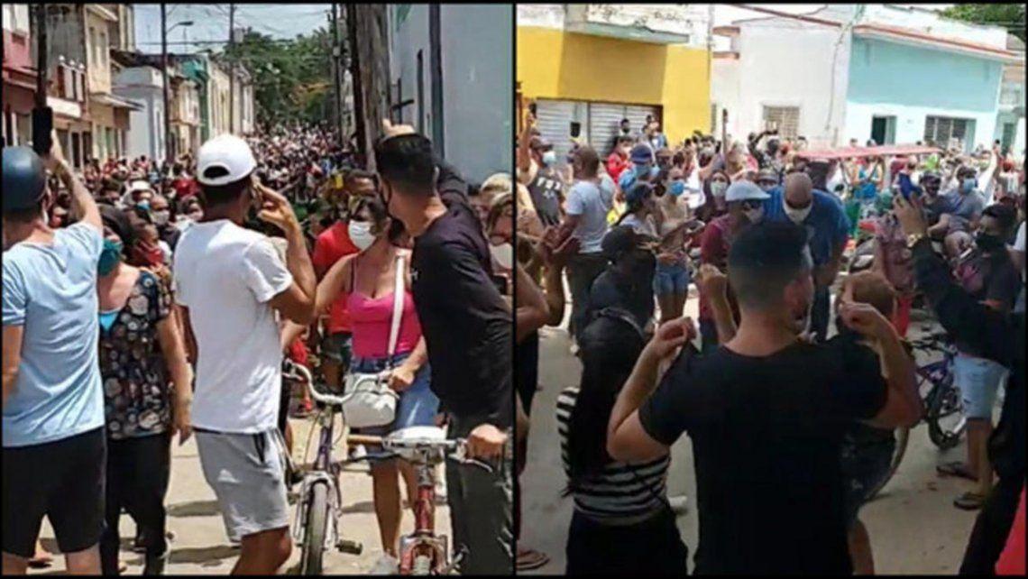 Esta es la protesta antigubernamental más grande que se registra en Cuba desde el llamado maleconazo en 1994.