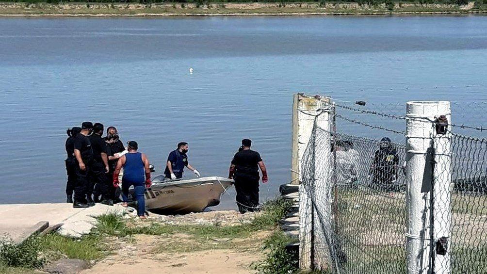 Santa Fe: encuentran cadáver maniatado a orillas de un río.