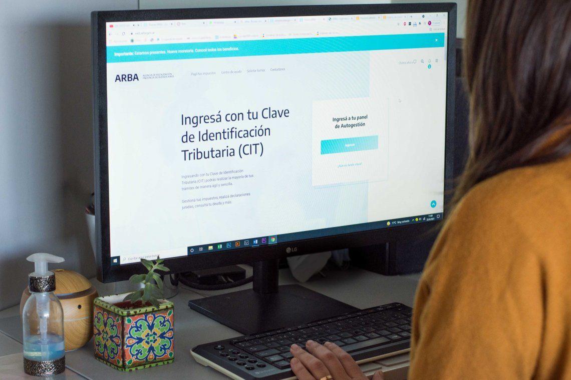 ARBA facilita a los contriuyentes planes de pago