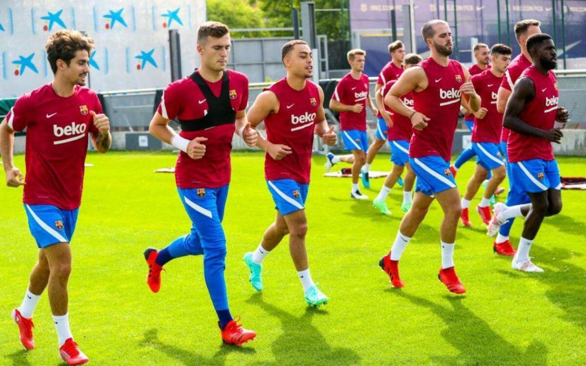 Barcelona inició su pretemporada