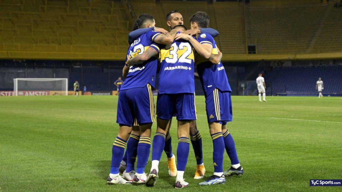 Boca quiere pegar primero ante el Atlético Mineiro