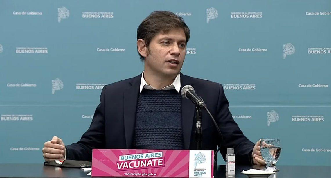 Axel Kicillof informó que yason 69 en toda la provincia las ciudades protegidas