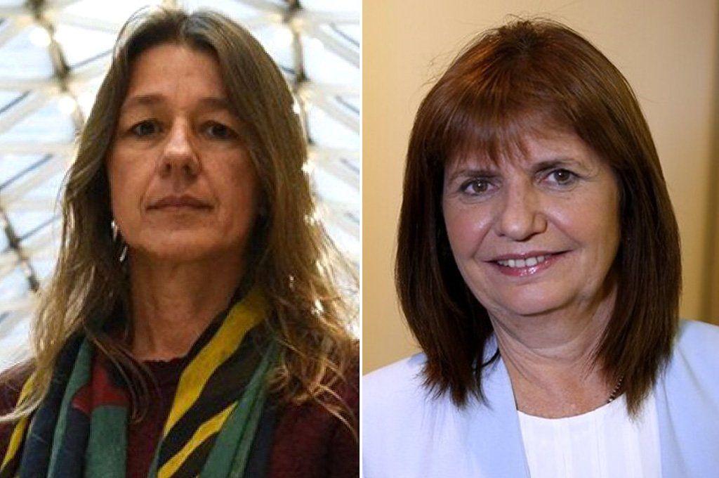 Sabina Frederic y Patricia Bullrich.