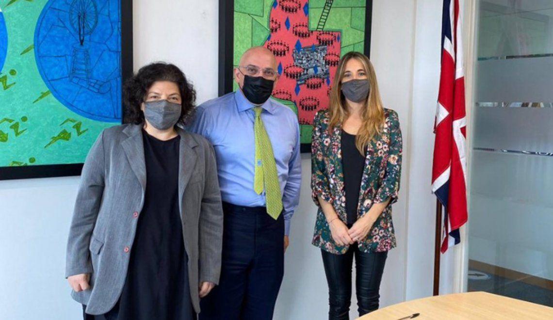 Vizzotti y Nicolini se reunieron con el ministro para el Despliegue de Vacunas contra el coronavirus