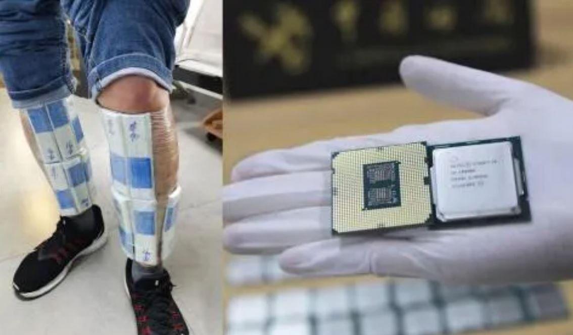 Hong Kong: lo detienen y le encuentran 256 CPUs de Intel pegadas al cuerpo