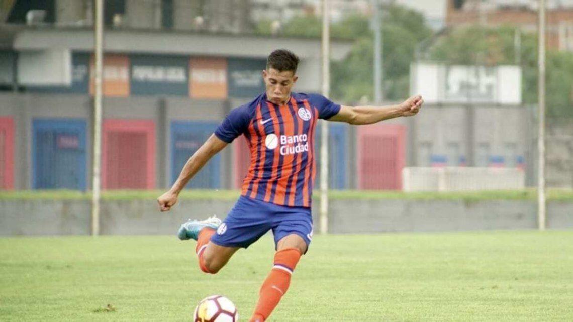 Agustín Peralta Bauer lesionado.