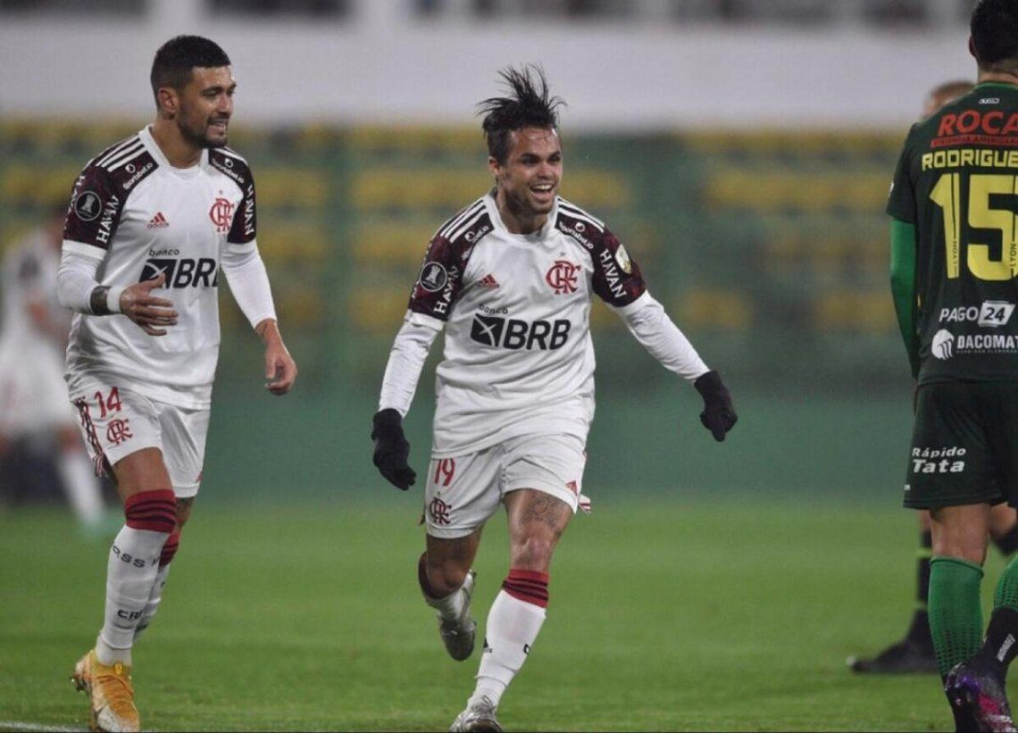 Defensa y Justicia perdió 1-0 ante Flamengo en la ida.