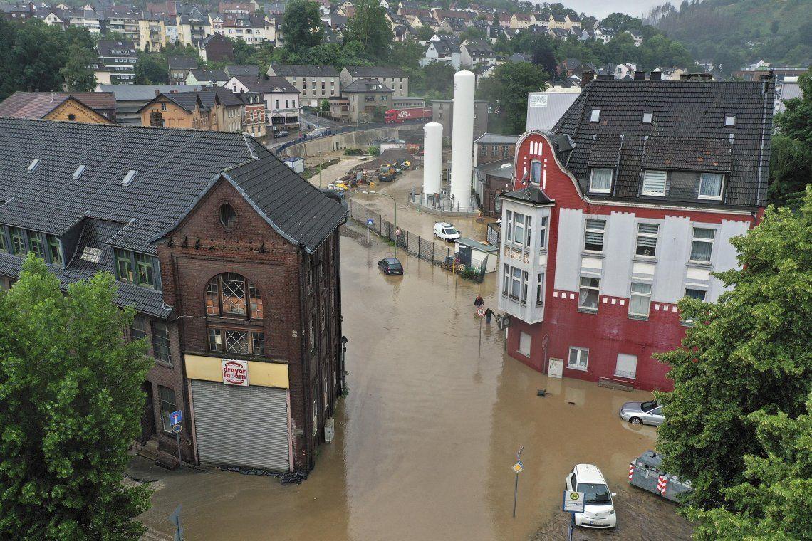 Al menos 38 muertos y decenas de desaparecidos por las tormentas en Alemania y Bélgica
