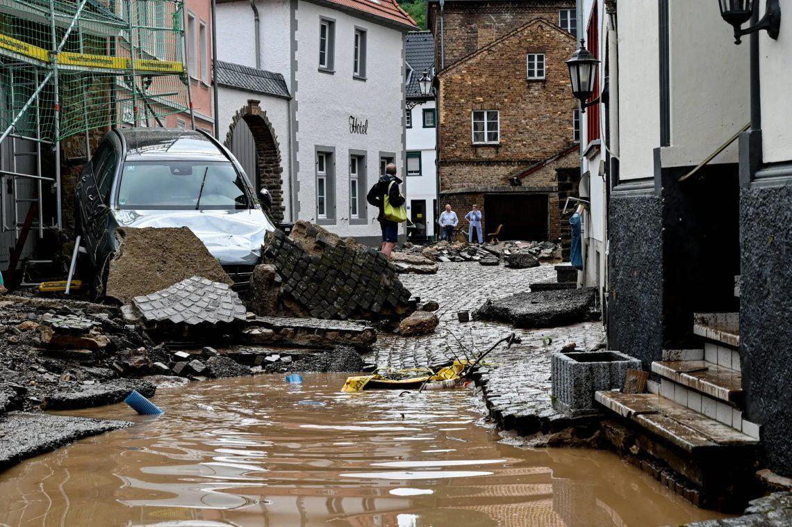 En fotos: inundaciones causan estragos en Europa