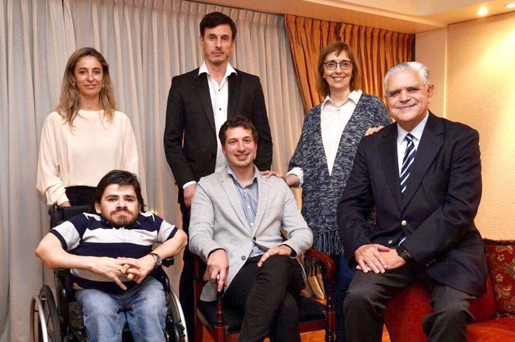 López Murphy junto a algunos de las figuras que lo acompañarán en las PASO: Franco Rinaldi