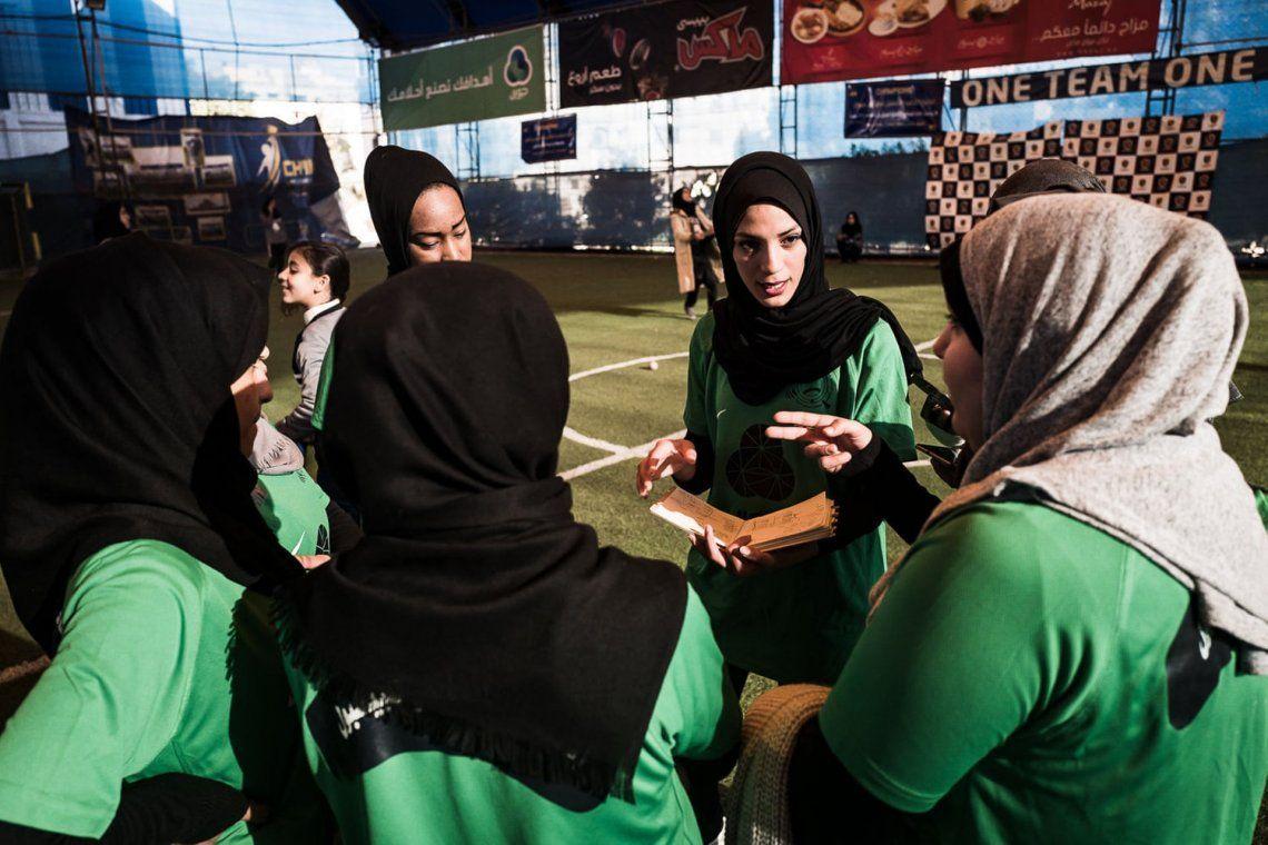 Premio Spotlight: Un grito de vida en Gaza. Fotografía: Nicola Zolin