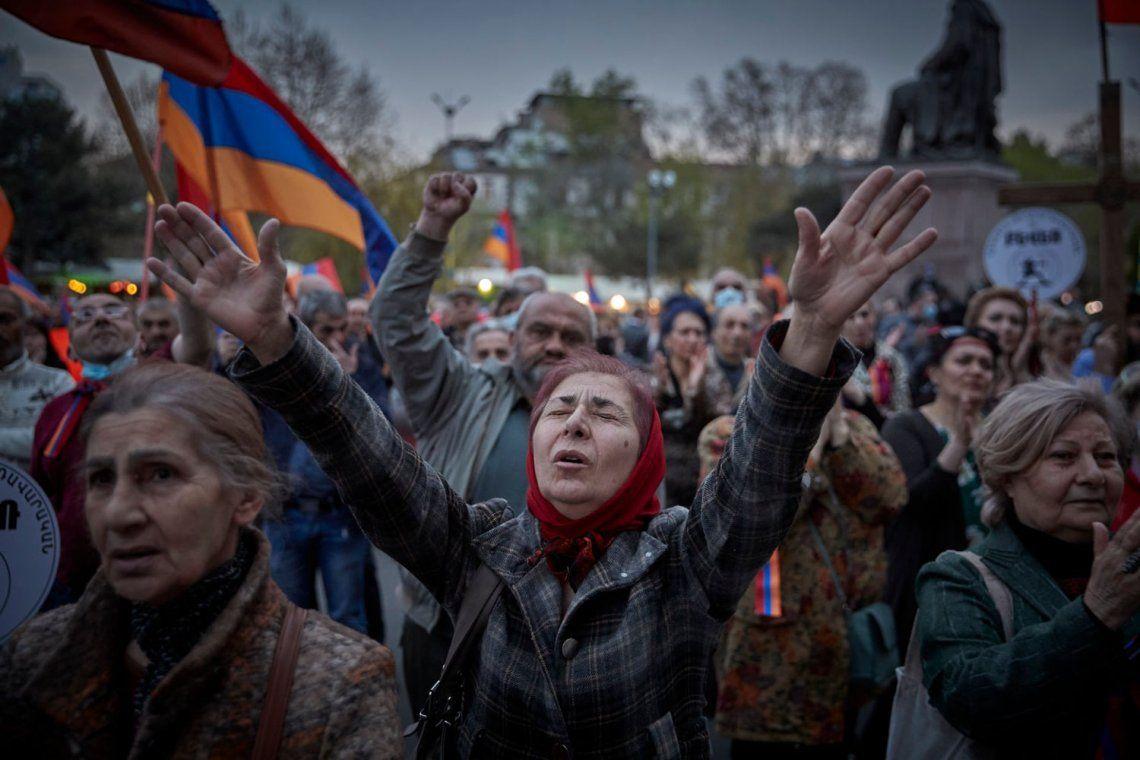 Premio Spotlight: Después de la guerra: el futuro incierto de Armenia. Fotografía: Kiran Ridley