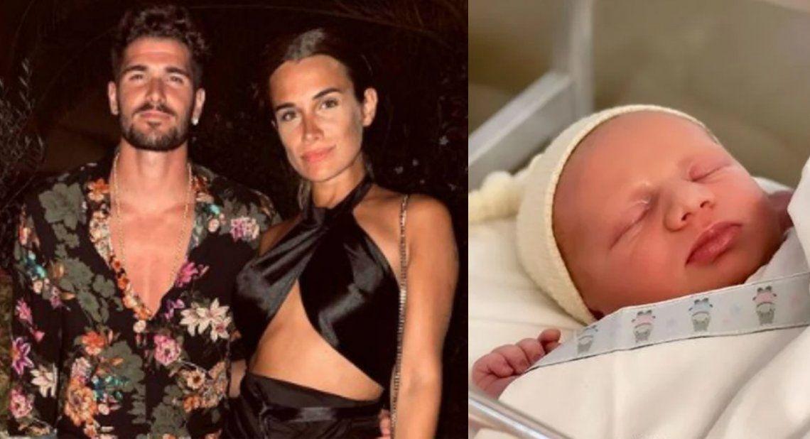 Rodrigo De Paul fue papá por segunda vez con Camila Homs