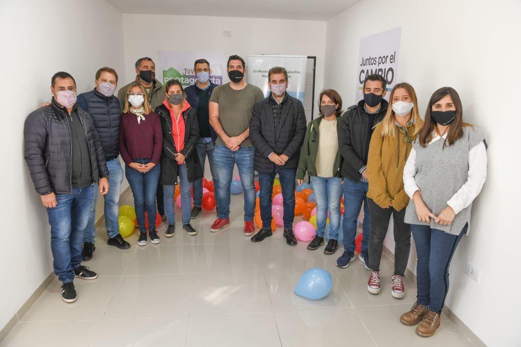 Cristian Ritondo inauguró un local del PRO en Moreno