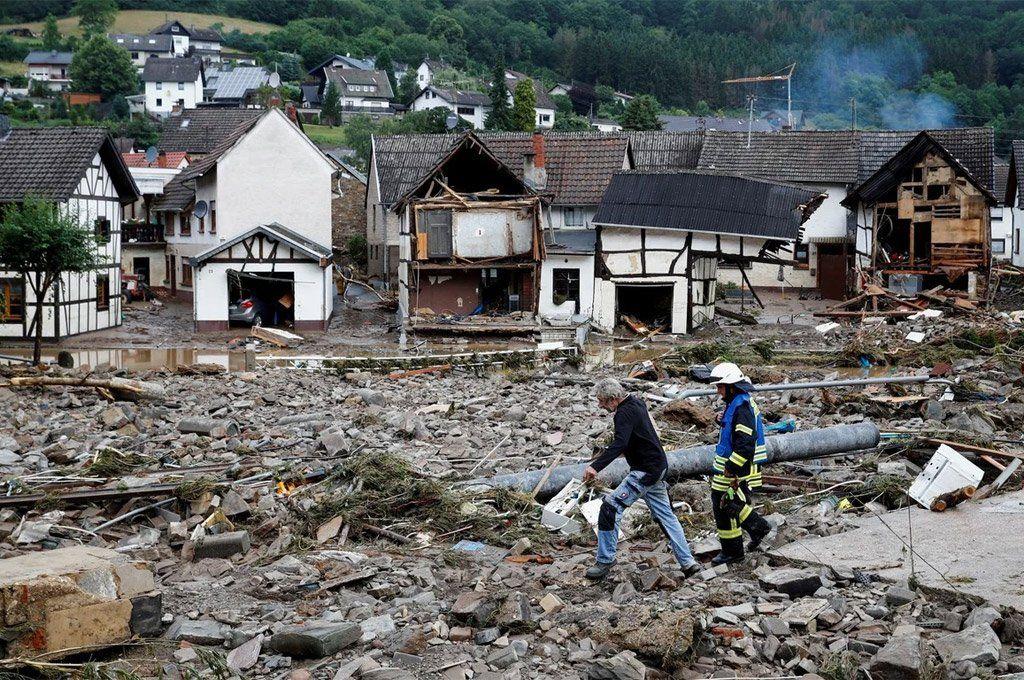 Inundaciones en Europa: ya hay más de 150 muertos