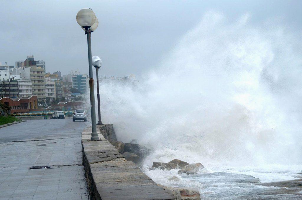 Mar del Plata recibirá fuertes vientos este fin de semana. Archivo.