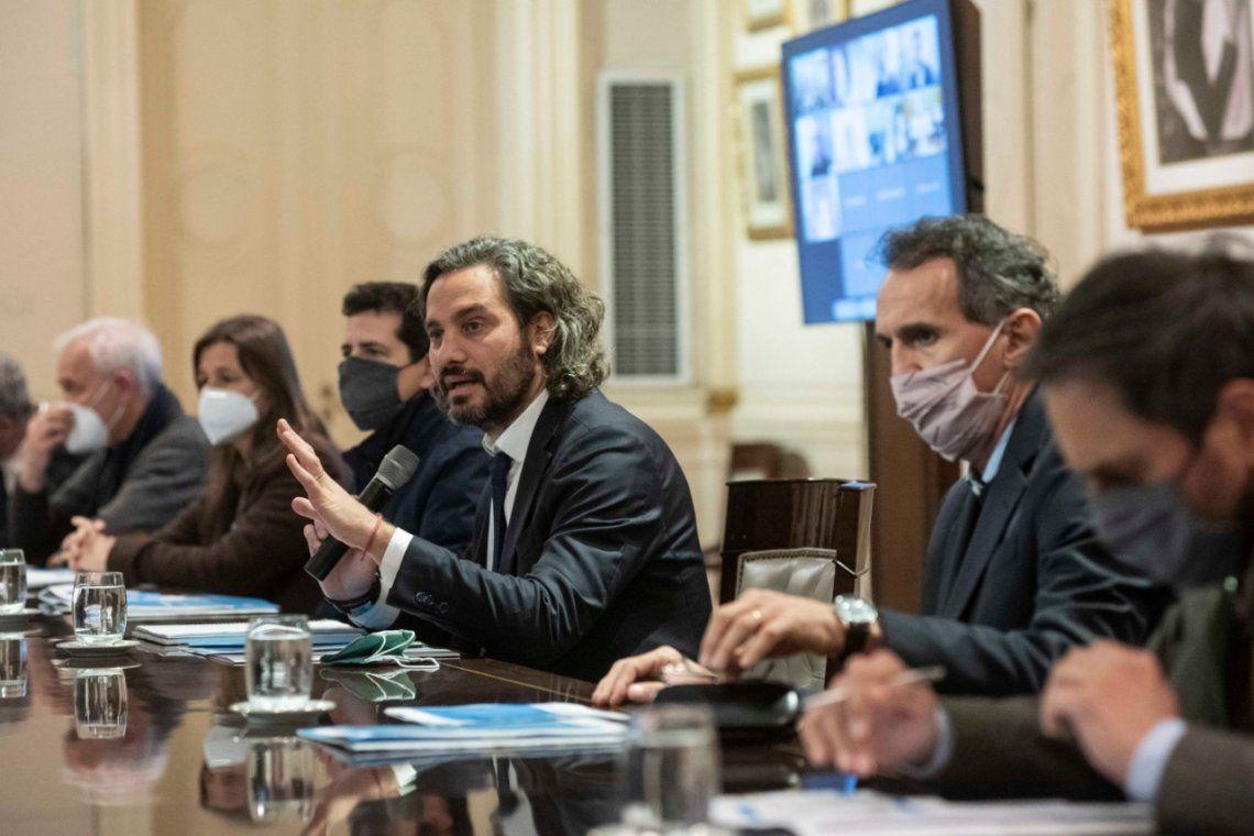 Santiago Cafiero anunció la creación de un fondo destinado a los perjudicados por la bajante del Paraná